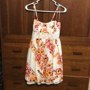 Floral Ruby Rox Juniors dress